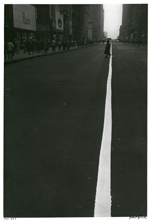 thumb-Robert-Frank-Pedestrian-Crossing-Center-White-Line-on-34th-Street-.-New-York-.-1948--Robert-Frank-.-Pedestrian-Crossing-Center-White-Line-on-34th-Street-.-New-York-.-1948.jpg